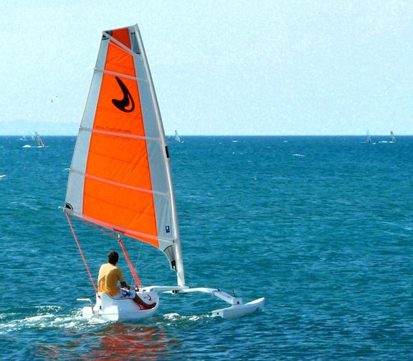 kayak mar plegable: